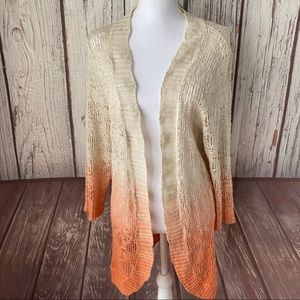 Maurices open front knit cardigan plus size 2